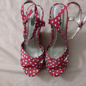 Charlotte Russe Platform Wedge Shoes